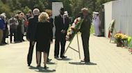 Joe Biden, Jill Biden Participate In Wreath-Laying Ceremony