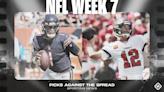 NFL picks, predictions against spread Week 7: Packers, Buccaneers, Cardinals cruise; Eagles upset Raiders