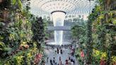 新加坡星耀樟宜機場宛如世外桃源