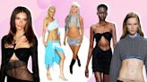 Jeans a la cadera y recortes, el reciclado de la moda que traería de nuevo la talla cero
