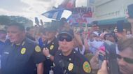 Thousands Rally in Little Havana Supporting Cuban Anti-Government Protests