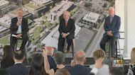 Gov. Larry Hogan Tours New Novavax Site In Montgomery County