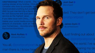 Avengers Assemble To Mend Chris Pratt's Fragile Ego