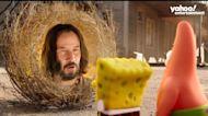 How Keanu Reeves joined the SpongeBob-verse
