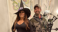 Donald Trump Jr. and Kimberly Guilfoyle dress as a 'witch hunt' for Halloween