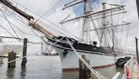 Travel back in time on the 1877 Tall Ship ELISSA