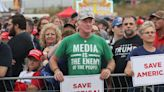"""""""Civil War"""" trends on Twitter after Iowa Trump rally attendee's remarks go viral"""