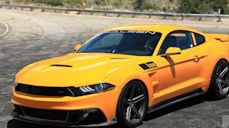 With 800 horsepower, this Saleen Mustang is a tuner's dream (until you drive it)