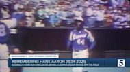 Hank Aaron's storied career can be traced back to Nashville's Sulphur Dell Stadium