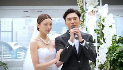 陳法拉前夫再婚辦婚禮,妻子戴四對龍鳳鐲出嫁,長相清秀氣質文雅