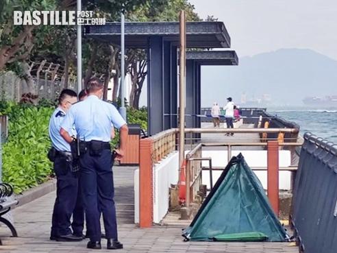 西營盤中山紀念公園對開 現約六旬無證男浮屍 | 社會事