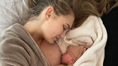 Victoria's Secret Angel Romee Strijd Welcomes Daughter Mint: 'We Are So in Love'