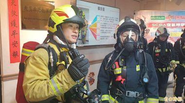 保護隊員生命安全 基消全面更換空氣呼吸器裝備組