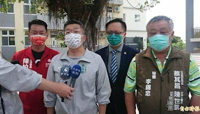 蔡其昌:民進黨已宣布力挺陳柏惟 全力支持反罷免