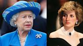 The Queen Wore a Very Meaningful Brooch with a Connection to Princess Diana for a Video Call This Week