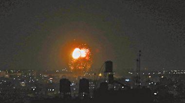 反擊哈馬斯燃燒彈 以軍再空襲加薩 | 蘋果日報