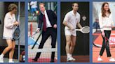 16 Photos of the Kate Middleton, Princess Diana, and the Rest of the Royal Family Playing Tennis