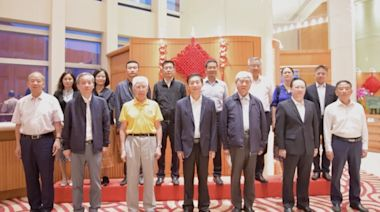 駱惠寧與航天科學家訪港團會面