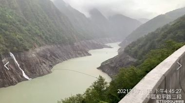 德基水庫蓄水突破50% 烟花外圍環流一天進補5百萬噸