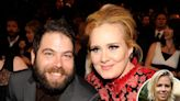 Adele can sing out about heartache... as ex Simon Konecki weeps silently