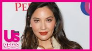 Dog Mom! Pregnant Olivia Munn Shows Baby Bump While Cuddling With Pets