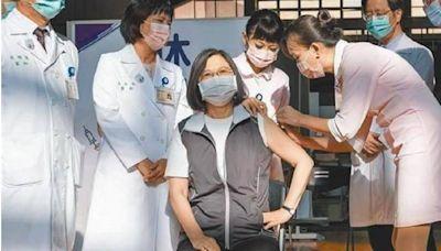 蔡英文、賴清德預約第二劑高端疫苗! 接種日期曝光