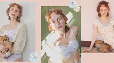 史上最萌聯名!PEACH JOHN攜手PAUL & JOE 推出7款內衣+居家服飾,可愛貓咪、經典花朵打造打造法式甜美居家風