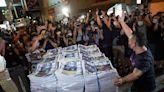 歐美英加紛紛譴責北京 停刊蘋果日報摧毀香港言論自由--上報