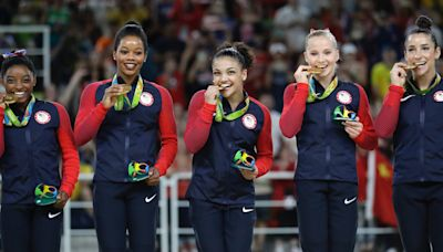 Then and Now: The 'Final Five' US Gymnastics team that won gold at the 2016 Olympics in Rio