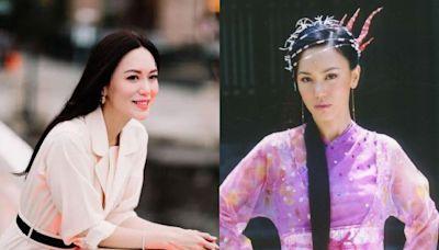 24歲被譽「新加坡第一美人」、憑《倚天屠龍記》爆紅!48歲郭妃麗閃嫁富商10年甜喊:被當公主寵