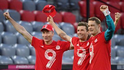 Robert Lewandowski stars as Bayern Munich seal ninth successive Bundesliga crown