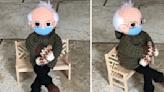 This 'Bernie Sanders Meme' Crochet Doll Just Sold for $20,300 on eBay
