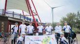 日靜岡國際經濟振興會駐台官員騎單車環島抵苗栗