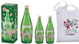 沛綠雅X村上隆推出「微笑花花」聯名包裝氣泡水!繽紛版全台限量上市、同步打造近百坪「花花世界」期間限定店