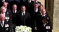 Harry rejoins royals for funeral procession