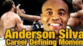 Anderson Silva recounts career defining wins over Chael Sonnen, Forrest Griffin, and Vitor Belfort