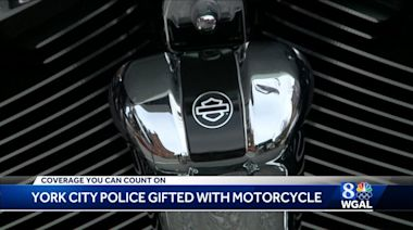 York City Police get a motorcycle