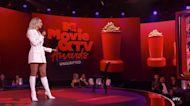 Chrishell and Gleb Cringe After Nikki Glaser Brings Up 'DWTS' Affair Rumors