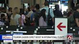 Seats on international flights to Orlando projected to double by December as restrictions ease