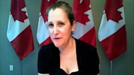 Canada's Fiscal Track is 'Reasonable, Sustainable': Freeland