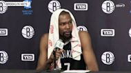 Nets vs Hornets: Kevin Durant reacts to 111-95 loss   Nets Post Game