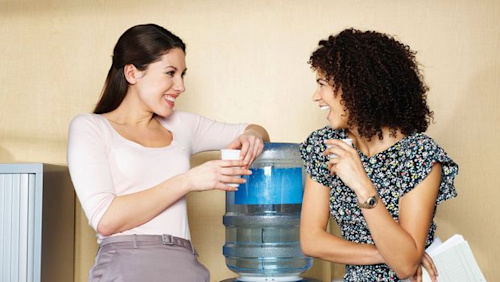 The rise of the 'virtual water cooler'