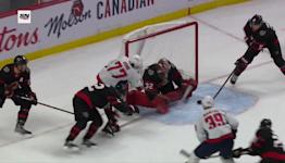 T.J. Oshie with a Goal vs. Ottawa Senators