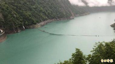 盧碧颱風外圍環流降雨助攻 德基水庫小進帳