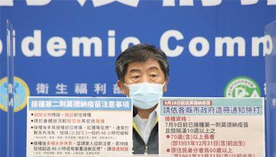 第二劑莫德納9/28配送各縣市 已打1劑逾70歲長者優先接種