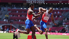 Carl Lewis on US men's 4x100-meter relay failure: It was a 'clown show' that was 'totally avoidable'