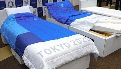 貫徹持續發展理念 東奧選手村紙板床將用作新冠病床