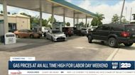 AAA official speaks the record high gas prices in California
