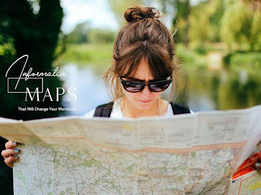 「紐西蘭下面,隱藏著一塊神秘大陸」:這些有趣的地圖,會讓你對世界改觀 ‧ A Day Magazine