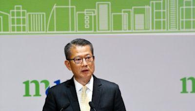 陳茂波擔任「都大講堂」講者 分析香港經濟形勢